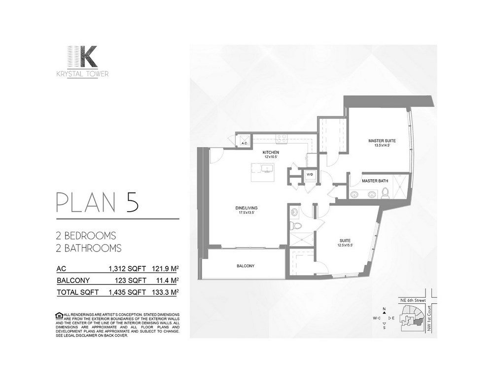 Krystal Tower - Floorplan 3