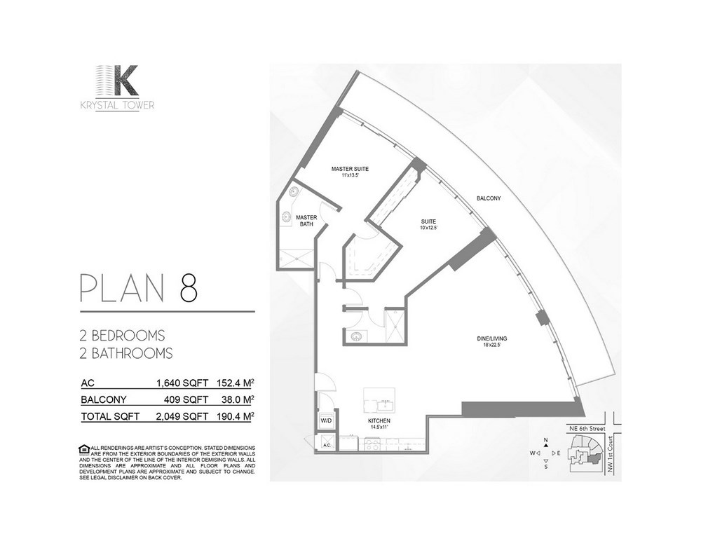 Krystal Tower - Floorplan 13