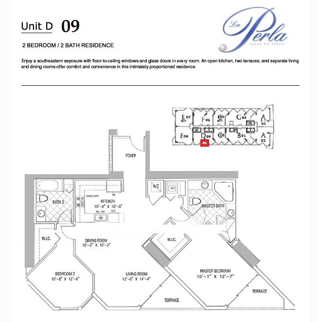La Perla - Floorplan 1