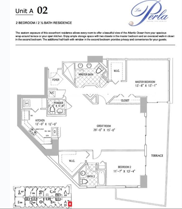 La Perla - Floorplan 2
