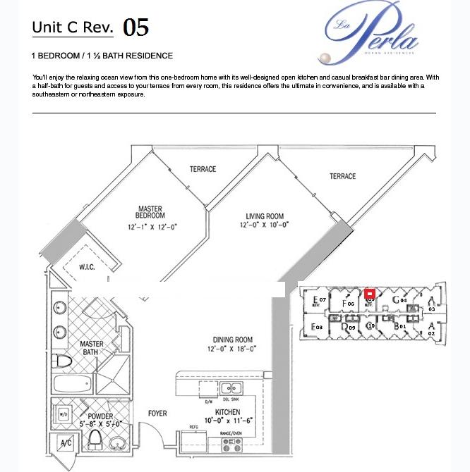 La Perla - Floorplan 3