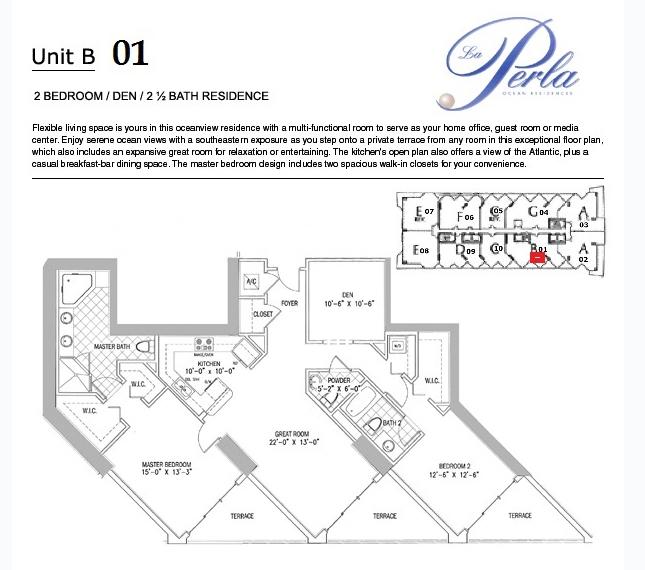 La Perla - Floorplan 4