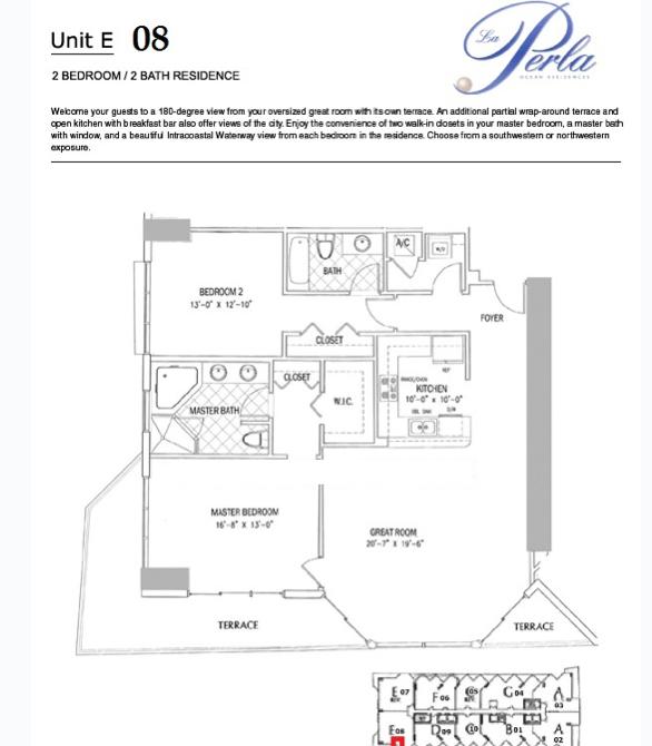 La Perla - Floorplan 5
