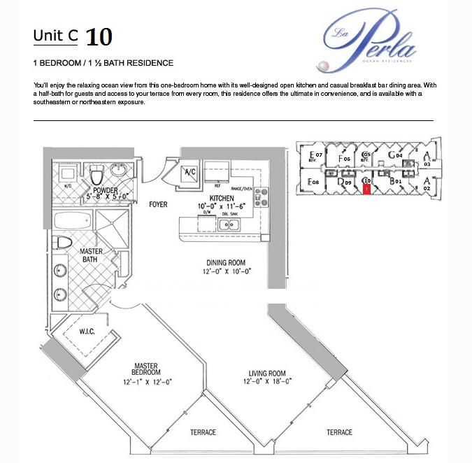 La Perla - Floorplan 6