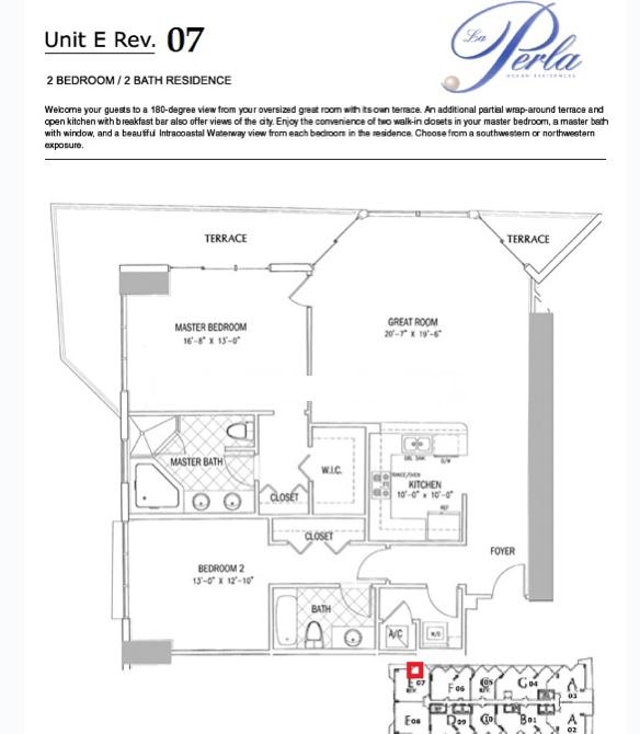 La Perla - Floorplan 7