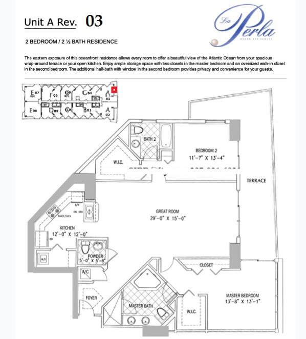 La Perla - Floorplan 8