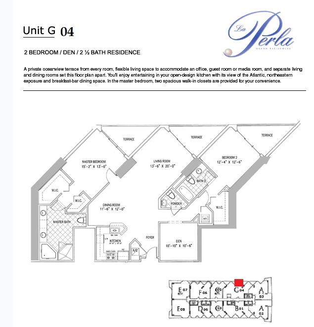 La Perla - Floorplan 9