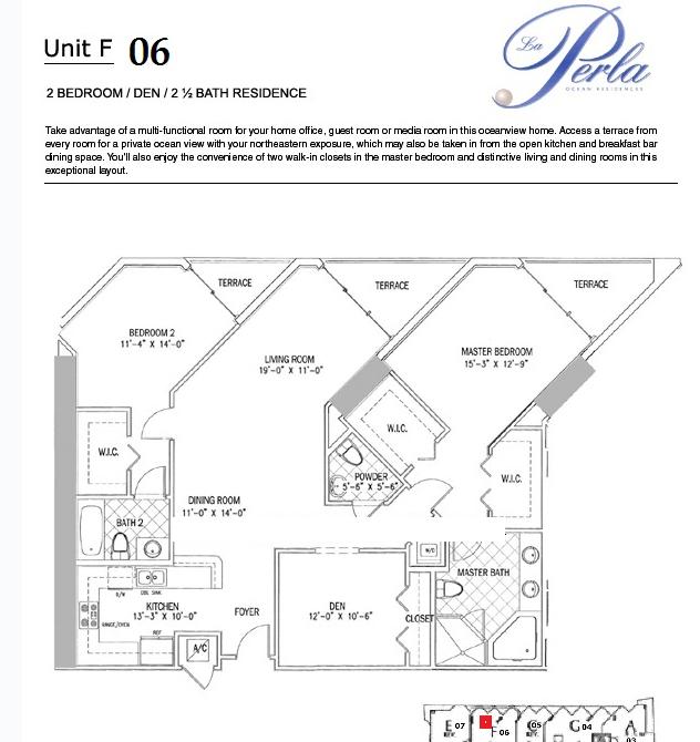 La Perla - Floorplan 10