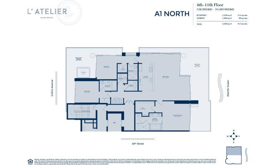 L'Atelier - Floorplan 1