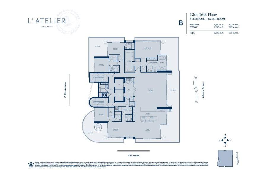 L'Atelier - Floorplan 3