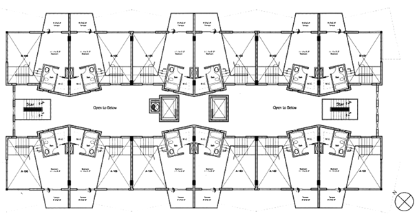 Lofts On Brickell - Floorplan 1