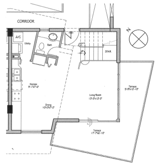 Lofts On Brickell - Floorplan 3