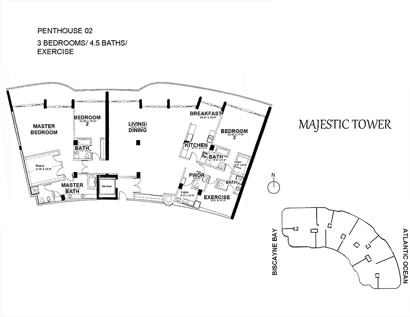 Majestic Tower - Floorplan 1