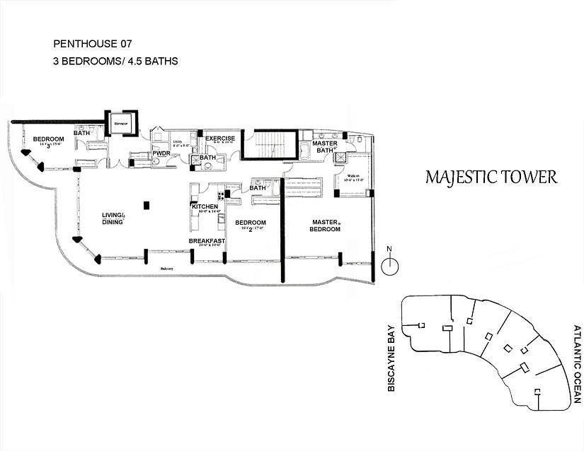 Majestic Tower - Floorplan 2