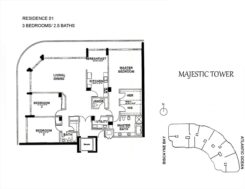 Majestic Tower - Floorplan 3
