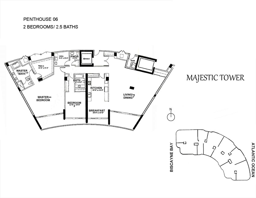Majestic Tower - Floorplan 4