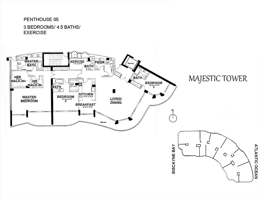 Majestic Tower - Floorplan 5