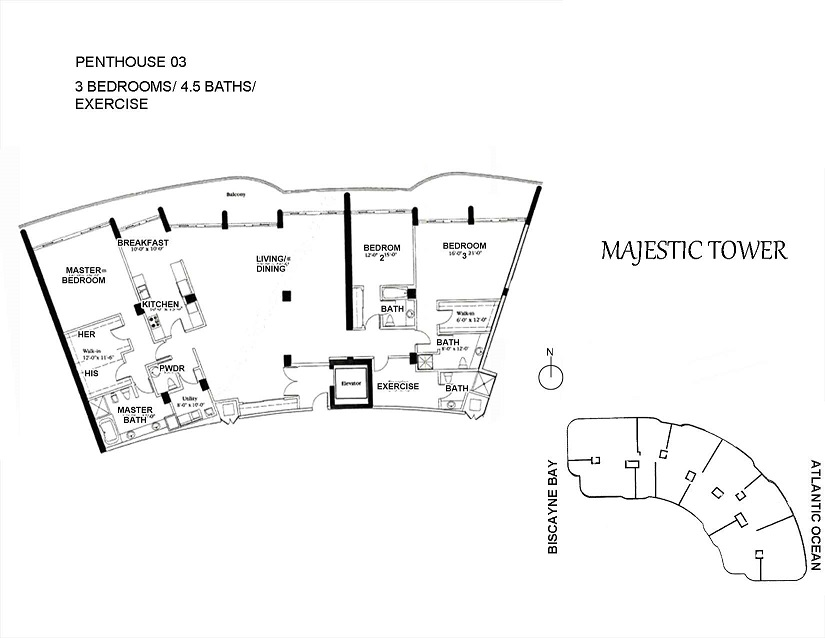 Majestic Tower - Floorplan 6