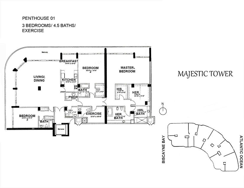 Majestic Tower - Floorplan 7
