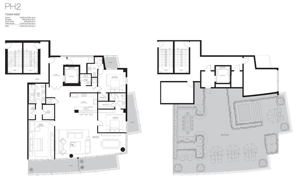 Marea South Beach - Floorplan 2