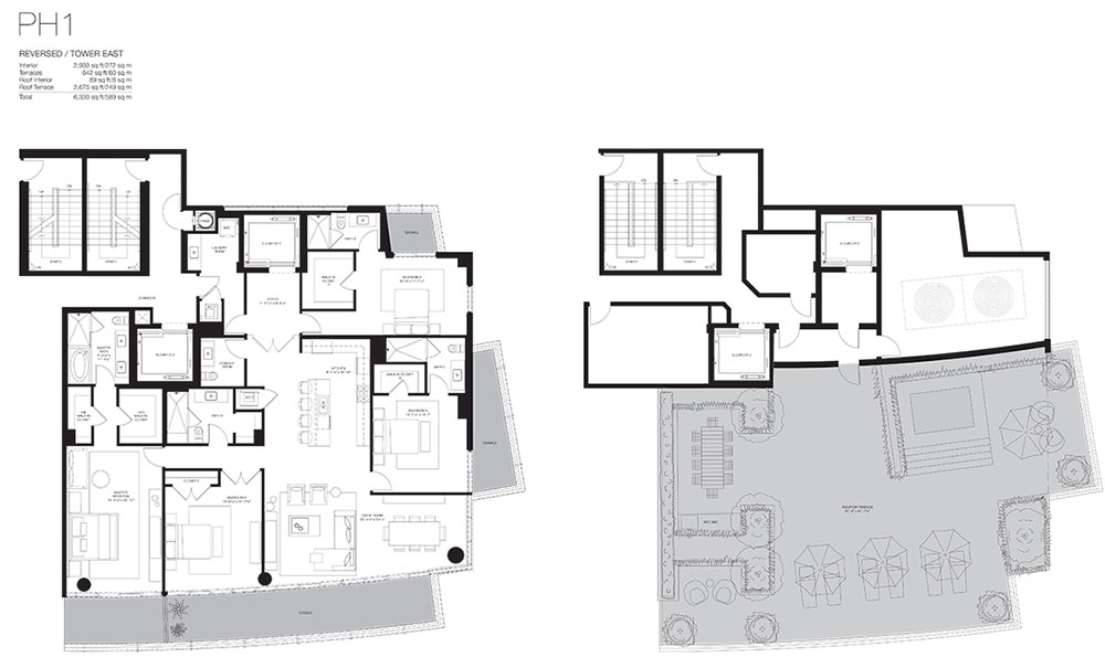 Marea South Beach - Floorplan 3