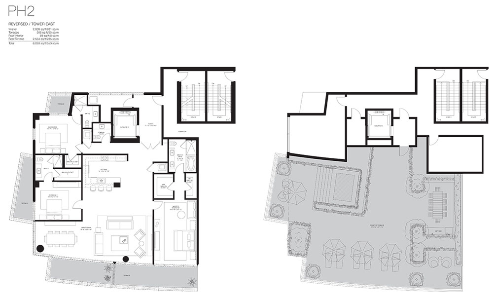 Marea South Beach - Floorplan 4