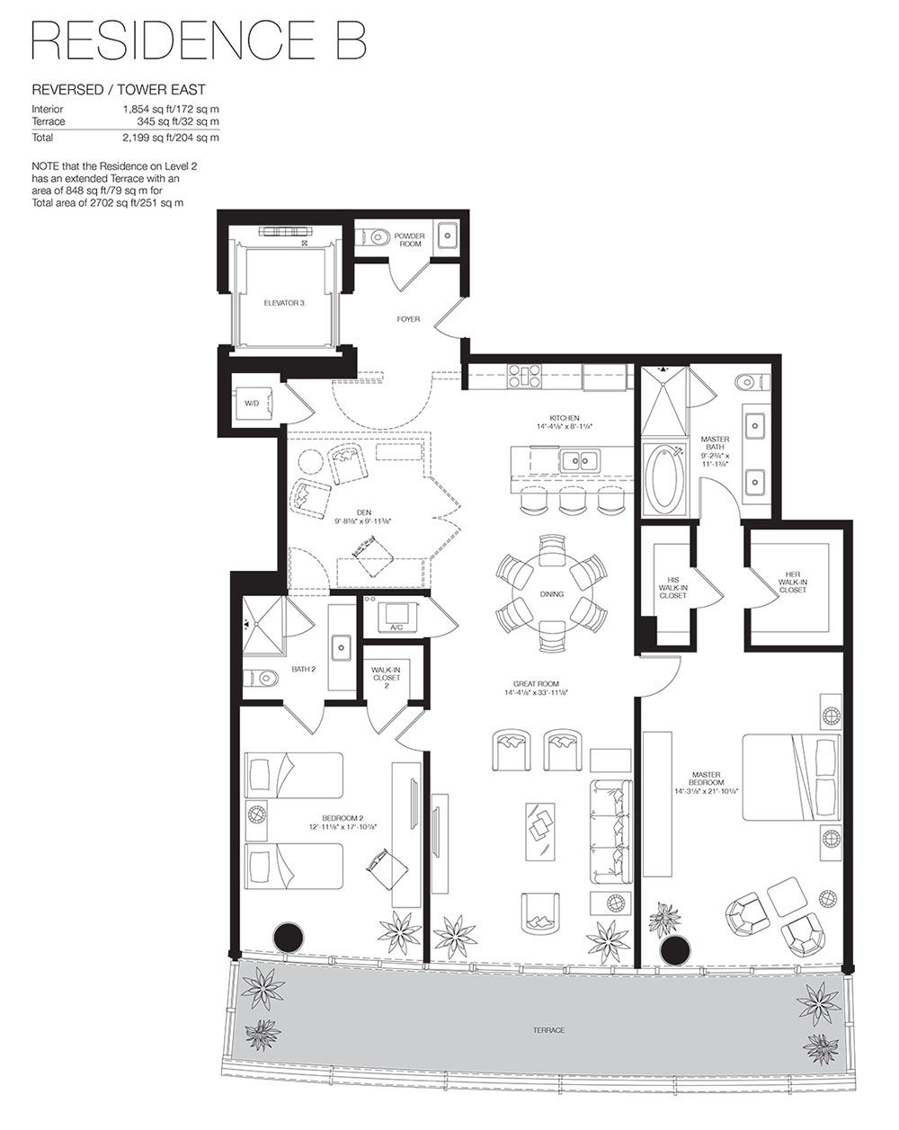 Marea South Beach - Floorplan 10