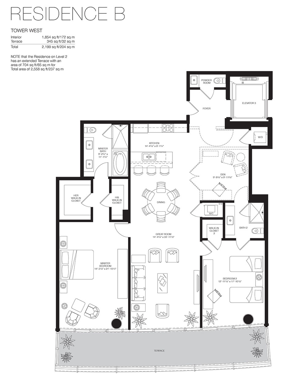 Marea South Beach - Floorplan 11