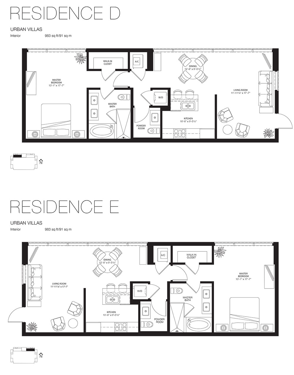 Marea South Beach - Floorplan 15