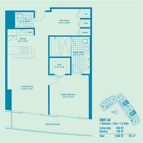 Marina Blue - Floorplan 3