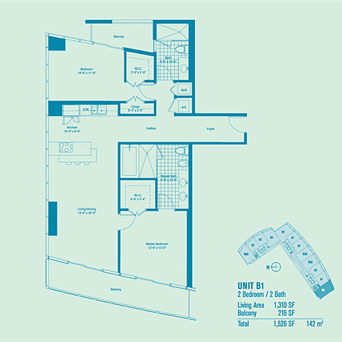 Marina Blue - Floorplan 4