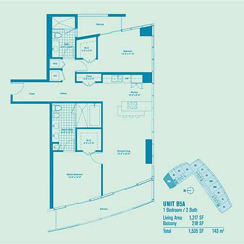 Marina Blue - Floorplan 7