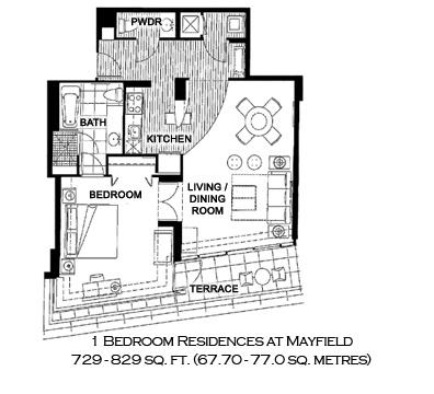 Espirito Santo Plaza - Floorplan 1