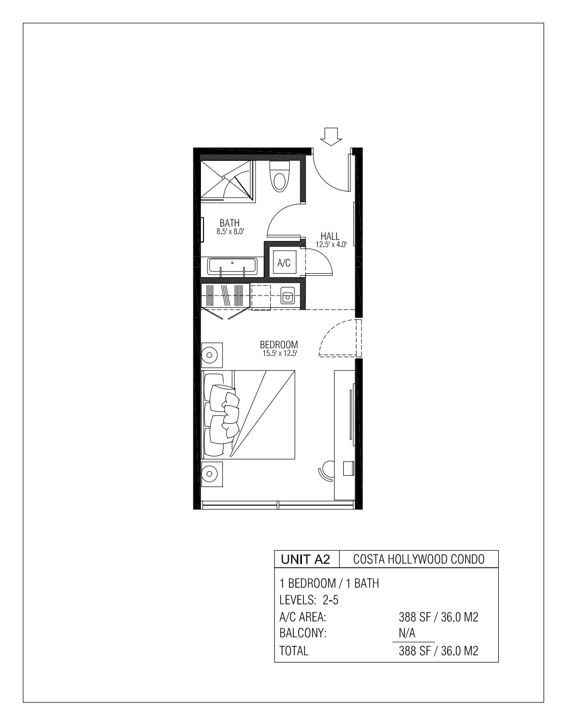 Melia Costa Hollywood - Floorplan 1