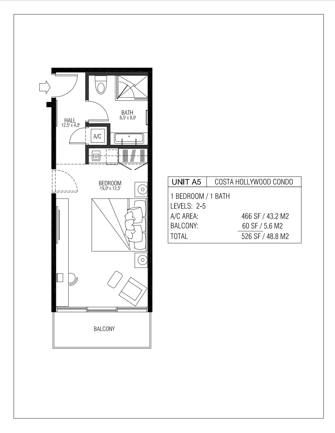 Melia Costa Hollywood - Floorplan 2