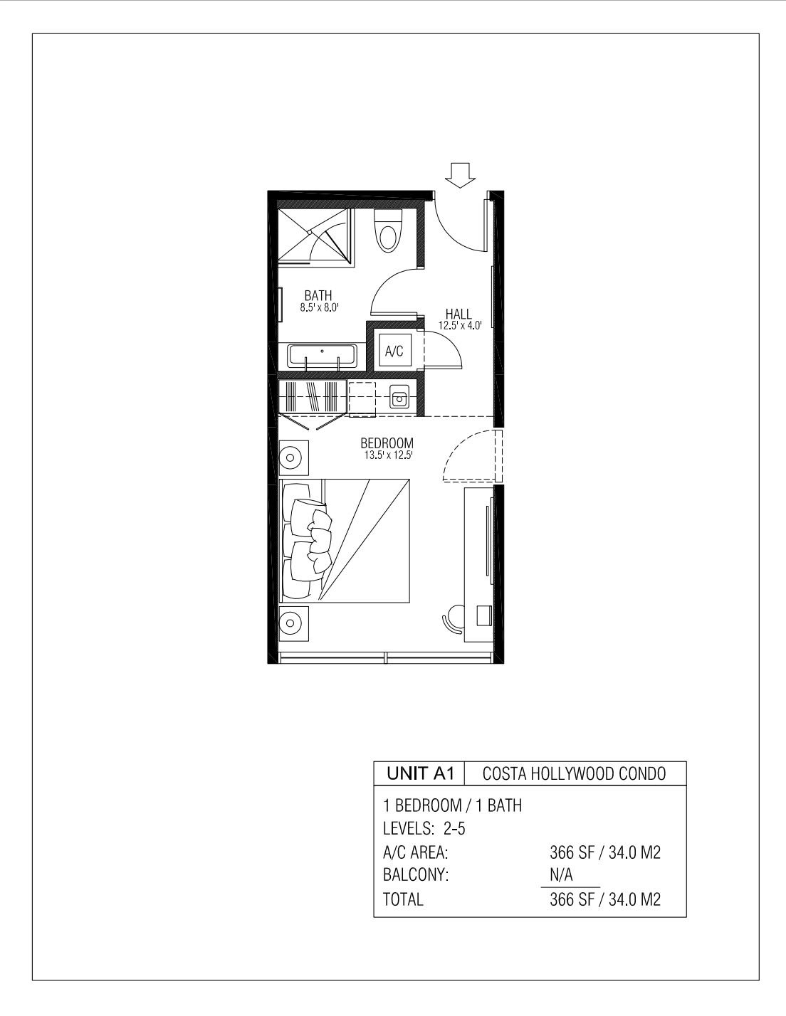 Melia Costa Hollywood - Floorplan 3
