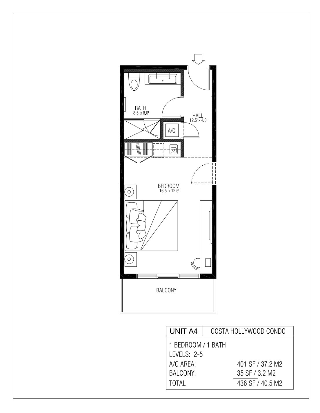 Melia Costa Hollywood - Floorplan 4
