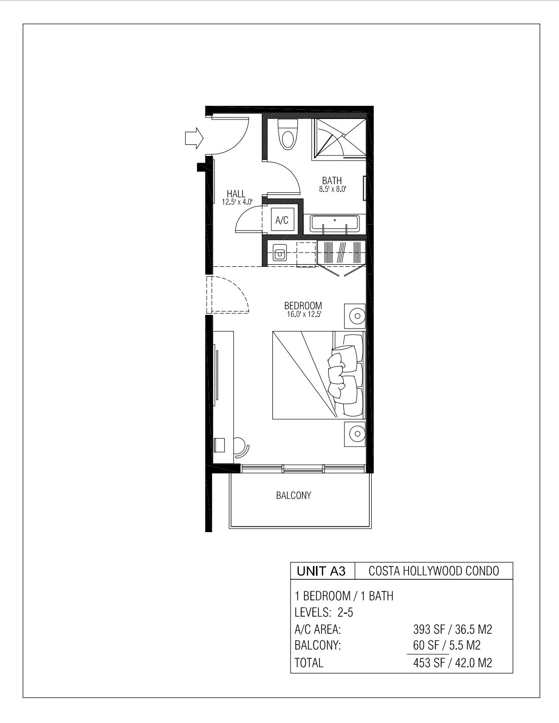 Melia Costa Hollywood - Floorplan 5