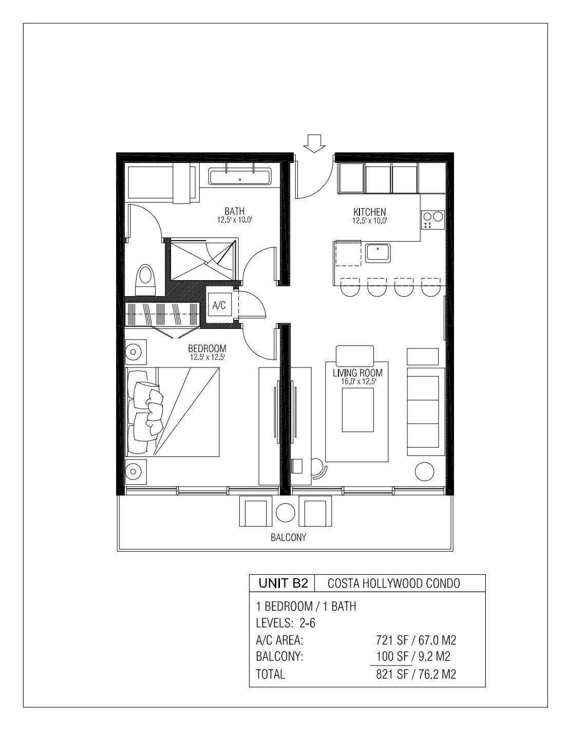 Melia Costa Hollywood - Floorplan 7