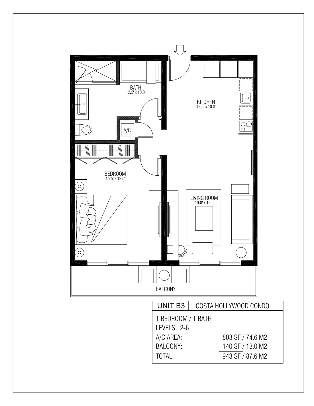 Melia Costa Hollywood - Floorplan 8
