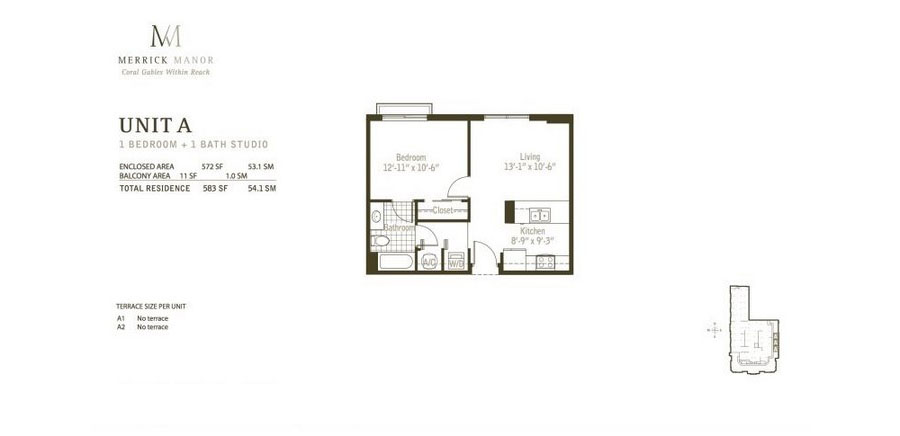 Merrick Manor - Floorplan 1