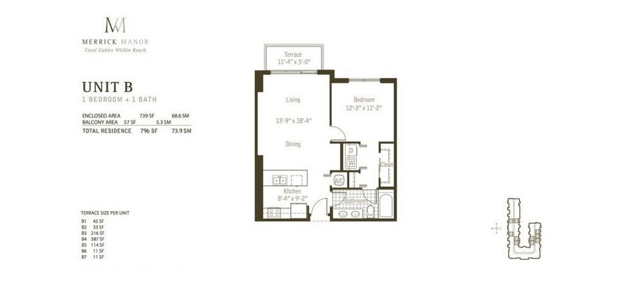 Merrick Manor - Floorplan 2