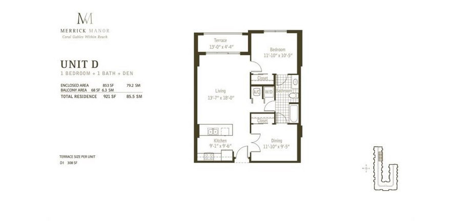 Merrick Manor - Floorplan 4