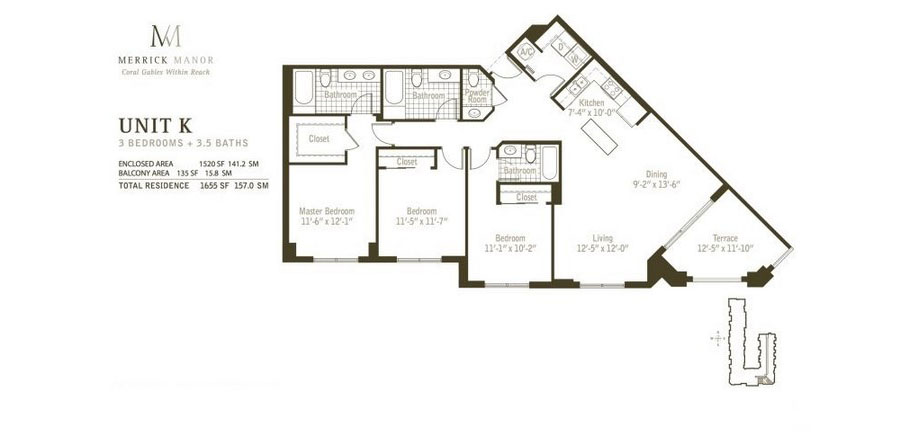 Merrick Manor - Floorplan 8