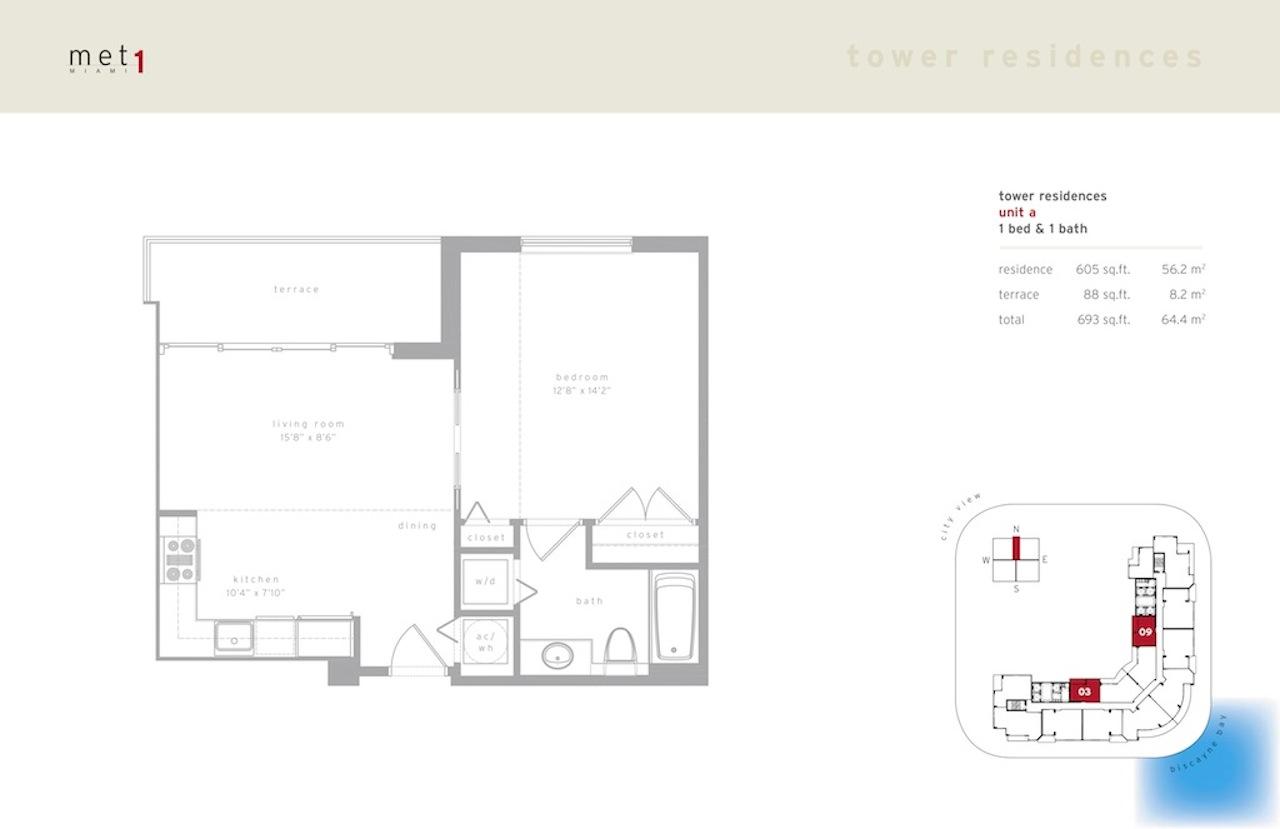 Met 1 - Floorplan 1