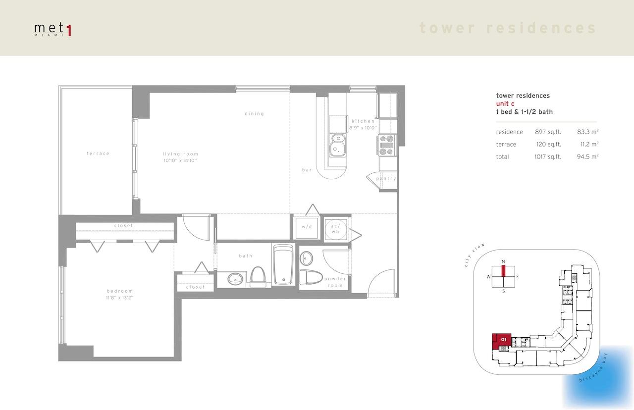 Met 1 - Floorplan 2