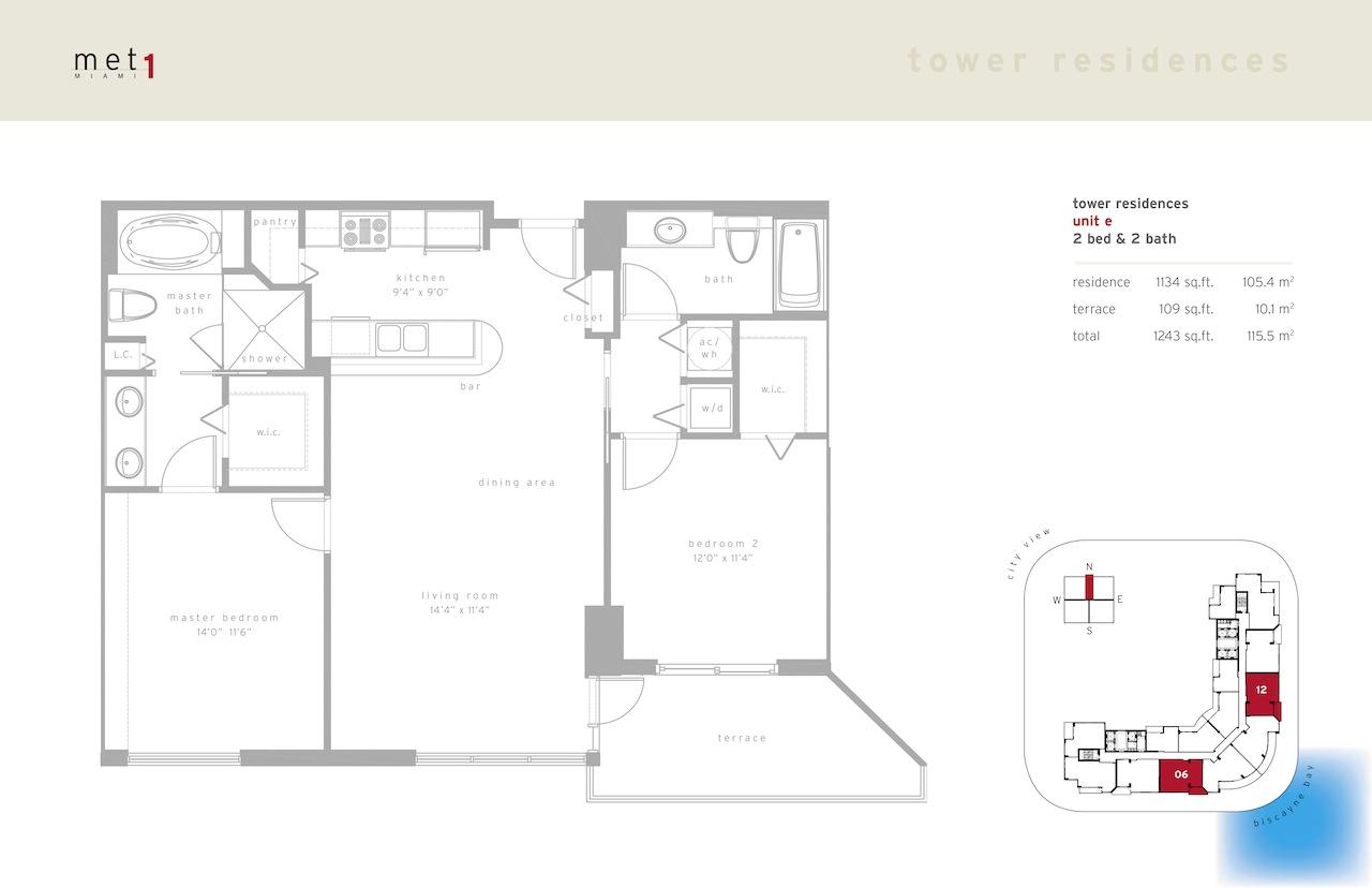 Met 1 - Floorplan 6
