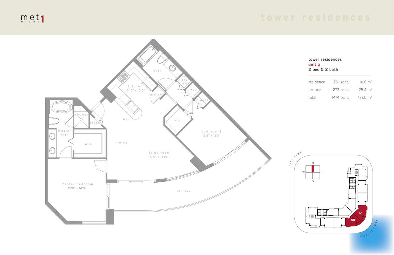 Met 1 - Floorplan 7