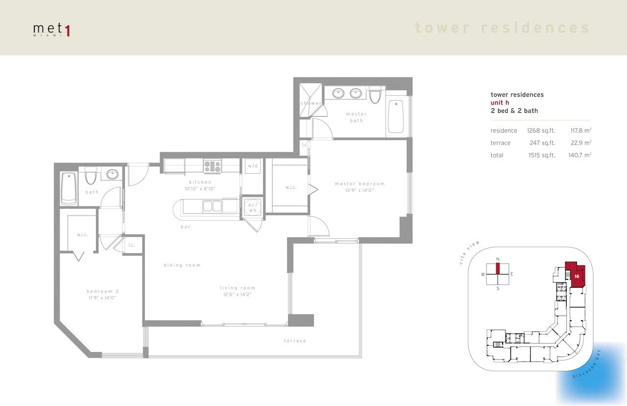 Met 1 - Floorplan 8
