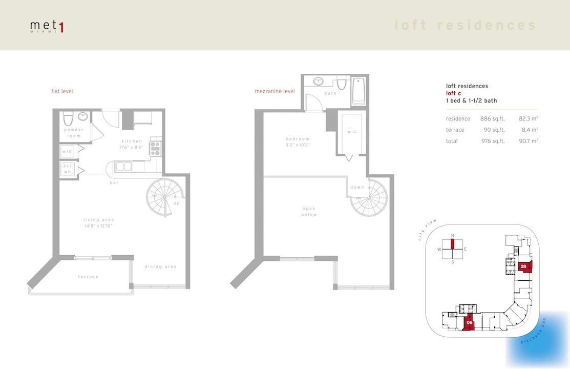 Met 1 - Floorplan 9